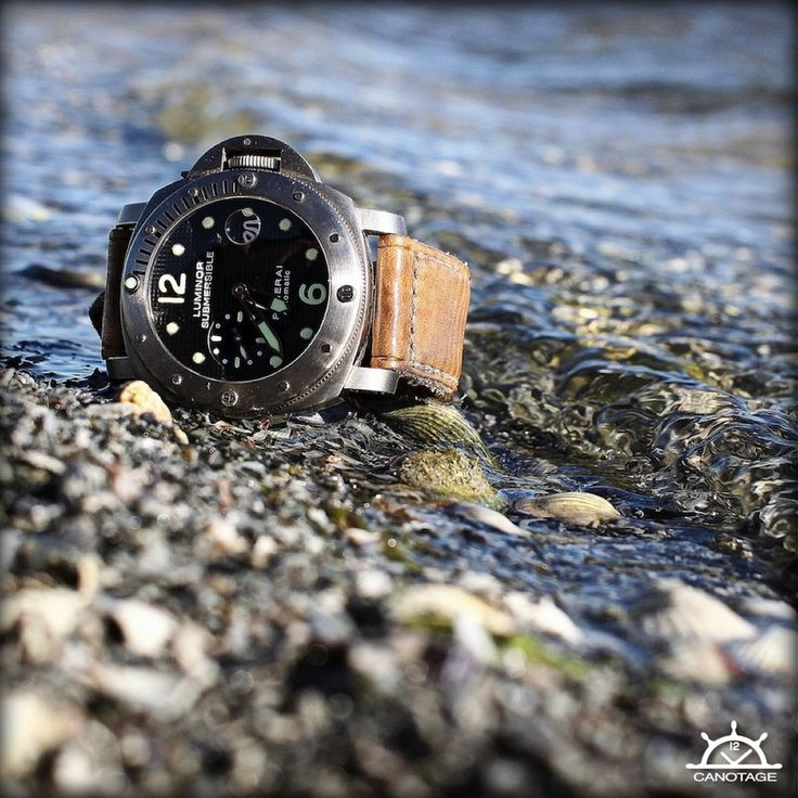 Panerai 25 and Harris strap by Canotage-strap
