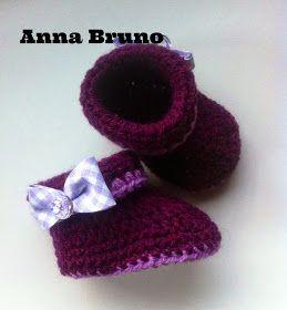 Con le mie mani by Anna Bruno: Tutorial stivaletti crochet