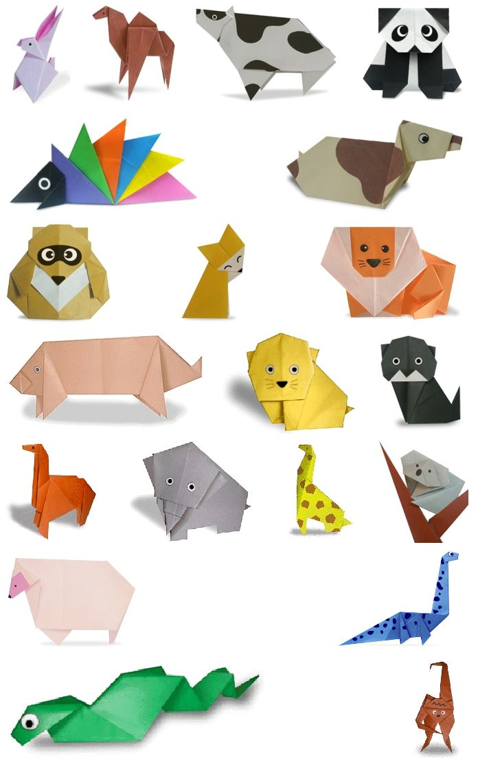 Origami animales