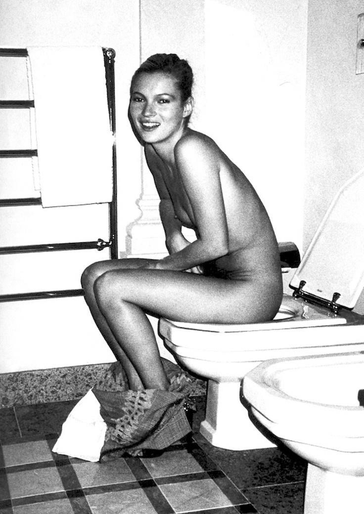 Well Kate moss toilet