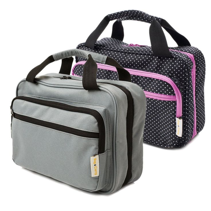 Premium Travel Cosmetic Bag By B&C - Hanging Toiletry Organizer With Many Pockets