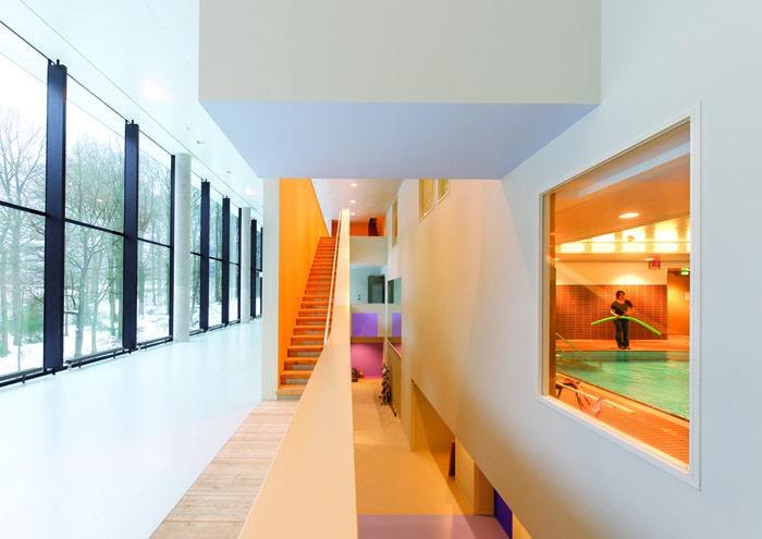 Rehabilitation Centre Groot Klimmendaal By Architectenbureau Koen Van Velsen Rehabilitation Center Architecture Rehabilitation Center Rehab Center Design
