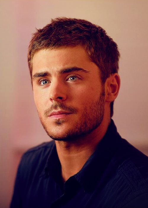 I fell in love with buff Zac Efron after seening him in The Lucky One.