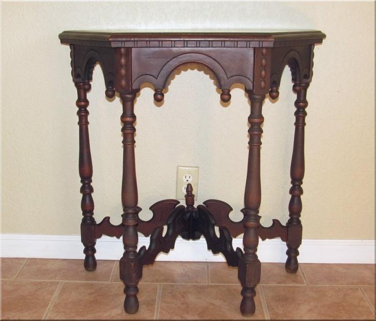 Victorian Console Table, C.1880s U2013 Decorative U0026 Unusual Detail Part 44