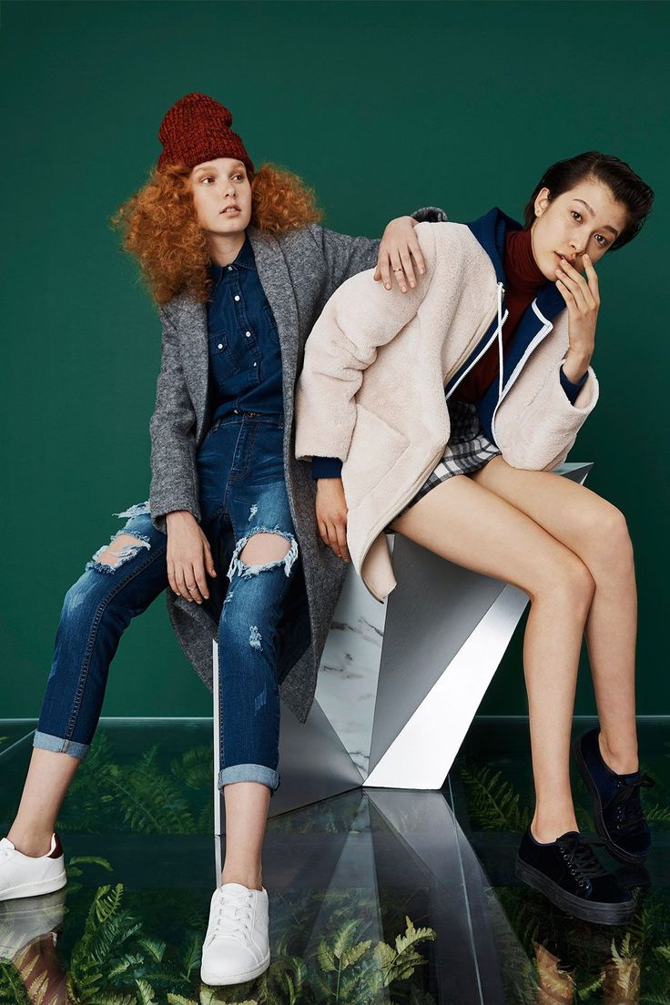 The Outdoor Girl's Guide To Fall Style #refinery29  http://www.refinery29.com/primark-fall-2015-collections#slide-4  Boyish CharmButton-up collared shirts, blazer coats, and hoodies might suggest the staples of your favorite fella's closet, but they're also the building blocks of any adventure-seeker's wardrobe come fall.On left: Primark Coat, $46; Denim Shirt, $13; Jeans, $22; Beanie, $3.50; Sneakers, $15; Rings Set, $3.50....