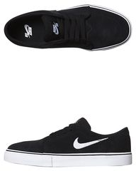NIKE WOMENS SATIRE SHOE - BLACK WHITE on http://www.surfstitch.com