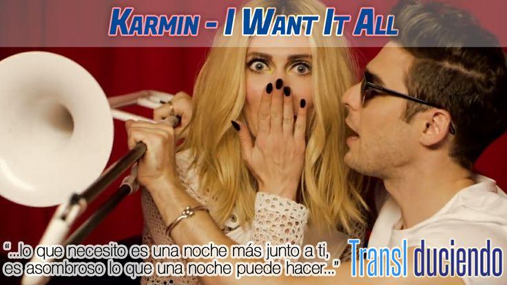 Traducción: #Karmin - I want it all   http://transl-duciendo.blogspot.com.es/2014/02/karmin-i-want-it-all-lo-quiero-todo.html