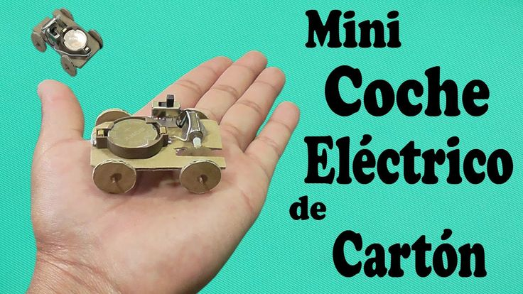 Cómo Hacer un Mini Coche Super Veloz (muy fácil de hacer) ~ how to make a super fast mini car! Very easy to make!!!