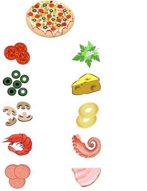 Аналог пиццы-мастерицы - еда на магнитах - Игры с детьми - Babyblog.ru