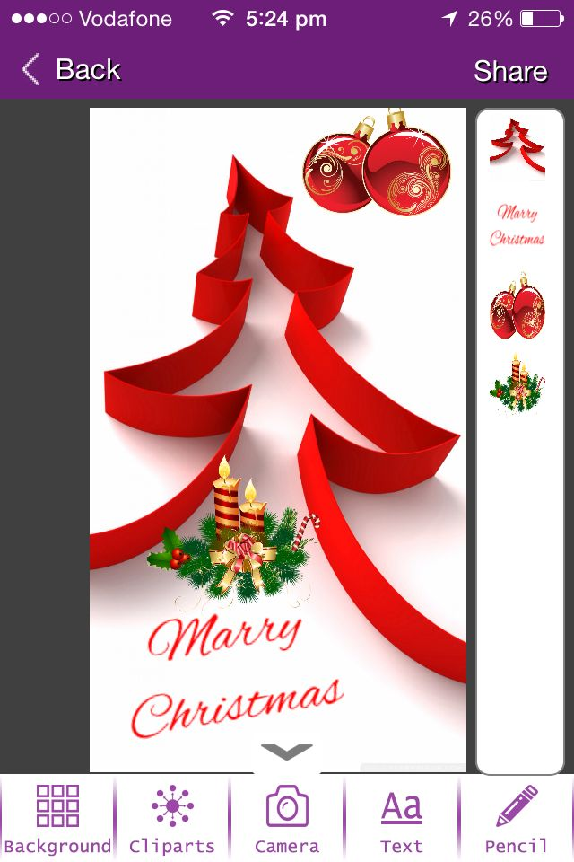 7 best the greetings studio images on pinterest the greetings studio app in action making christmas greeting card this m4hsunfo