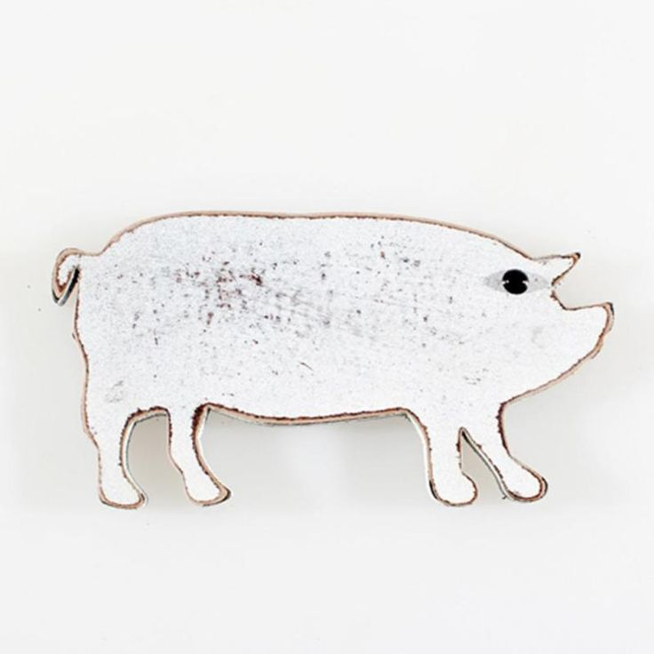 1pc Funny Fridge Stickers Vintage Pig Shape Refrigerator Magnets Wood Sticker Decor Kitchen Accessories Gift //Price: $4.95 & FREE Shipping //     #hashtag2