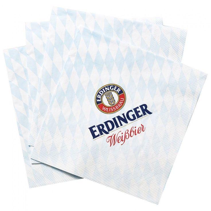 #Erdinger #beer #german #oktoberfest #napkin #serviette #bavaria #germansouvenirs #bavariansouvenirs