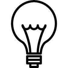 Resultado de imagen de dibujos de bombillas a lapiz