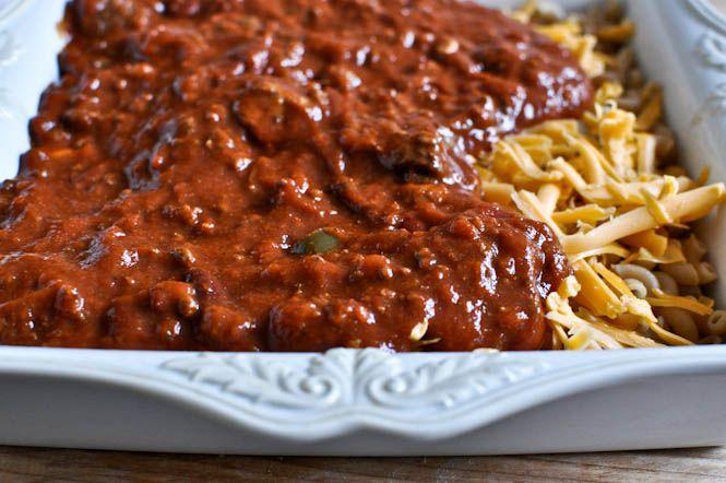 Chili, cheese & cornbread..yum! | Casserole / One Dish Meal | Pinter ...