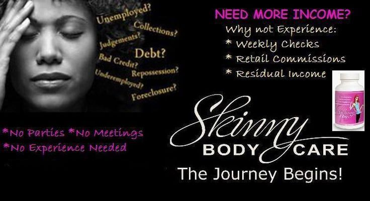 JOIN MY TEAM NOW Become a distributor now To Join the company there is a $10 one-time registration fee -added to your first order to make commissions-- --you get $8 check the first week for doing nothing----- the only requirement is 1 bottle on auto ship to make commissions--- You make a Fast Start bonus on each new  $25 for 1 bottle on any new customer-- $50 for a new customer ordering 2+1 free and $75 when a new customer order 3+3. Start now at http://sleekbods.Richandtrim.com