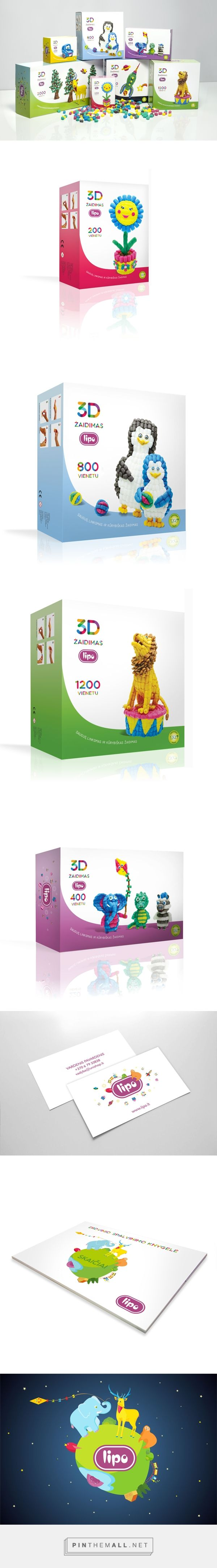 LIpo children's toy packaging design on Behance - created via http://pinthemall.net