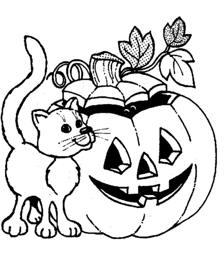 Halloween Pictures To Colour. Halloween Coloring Pages: Free Scary  Halloween Coloring. Halloween Pictures To Colour