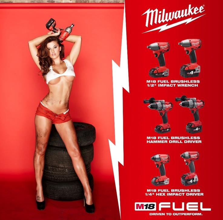 m18 fuel logo. milwaukee m18 fuel - \ logo