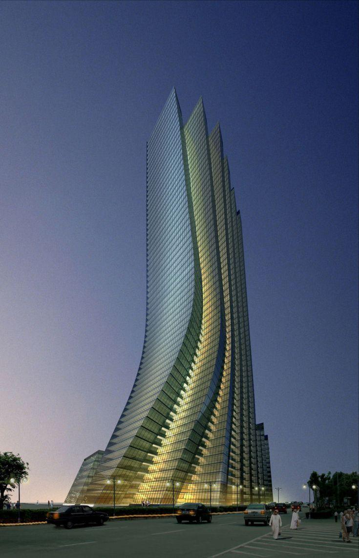 Empire Island Tower, Abu Dhabi designed by Aedas