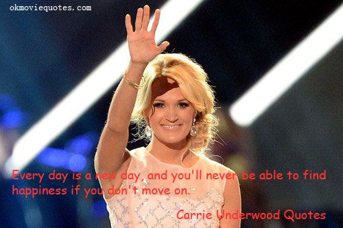 Carries amazing quotes