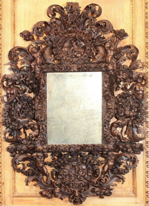 17 best images about mirrors on pinterest baroque for Italian baroque mirror