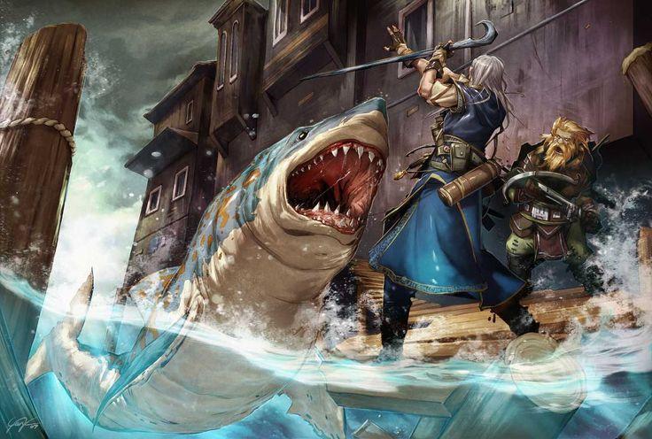 Megalodon Attack!