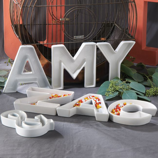 44 Best Images About Decorate With Letter Dishes! On