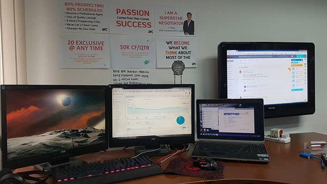 4 Monitor 1 Pc
