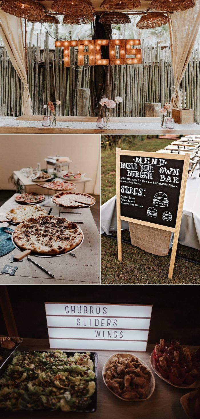 Have Comfort Foods Be Apart Of Your Wedding Menu Images By Melissa Marshall Photography Antholog Casual Wedding Reception Casual Wedding Rustic Chic Wedding