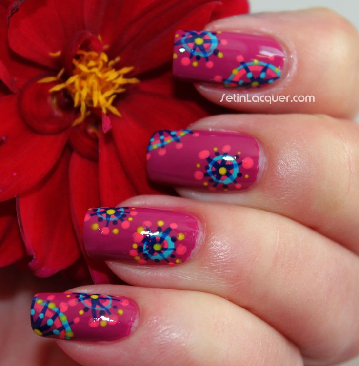 30 Funky And Trendy Nail Art Designs For 2014: 116 Best Abstract Nails Images On Pinterest
