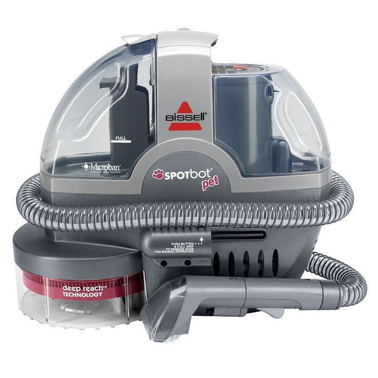 Bissell Spot Bot Pet Portable Carpet Cleaner, Multicolor