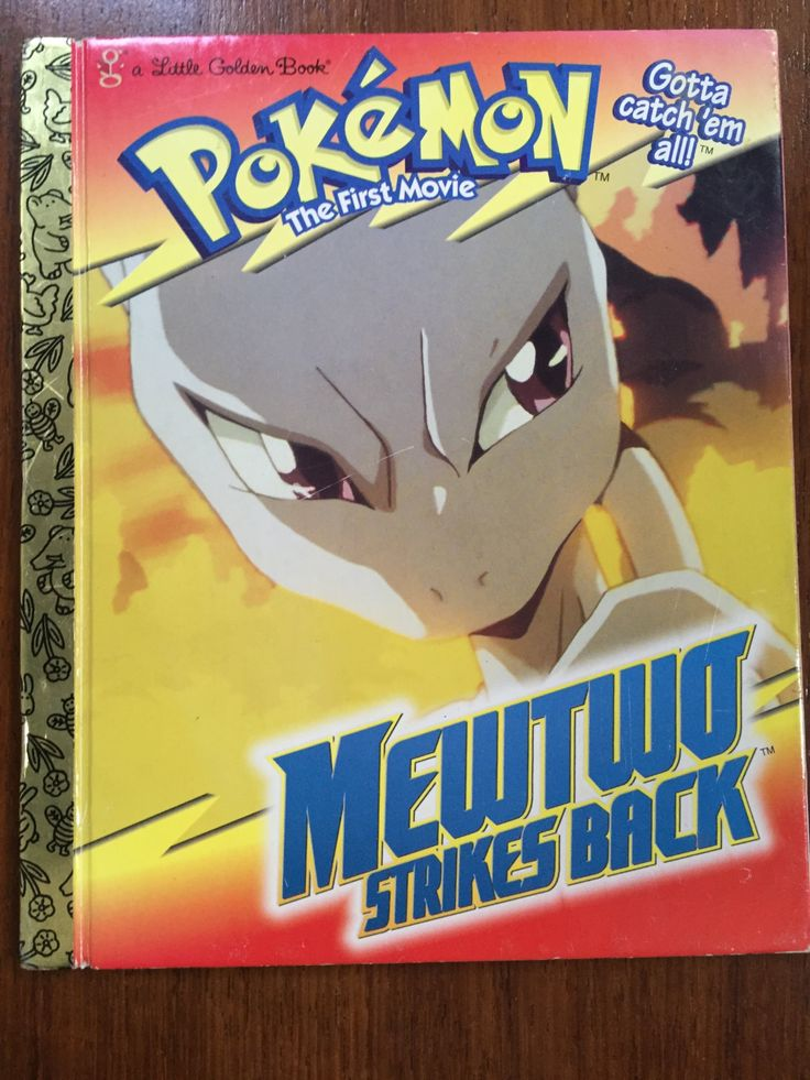 Collectible First Edition Little Golden Book: Pokemon The First Movie Mewtwo Strikes Back 1999 1ST ED by weseatree on Etsy