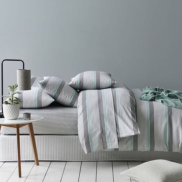As the weather gets colder, there's nothing better than snuggling into a cosy new set of flannelette sheets. We've got a range of styles from classic to contemporary, quilt covers and sheets. #bedlinen #quiltcover #sheets #flannelette #winterbedding #bedroom #bedlinen #bedroominspo #bedroomstyling #bedroomdecor #bedroomideas #homestyling #homedecor #homeinterior #adairs
