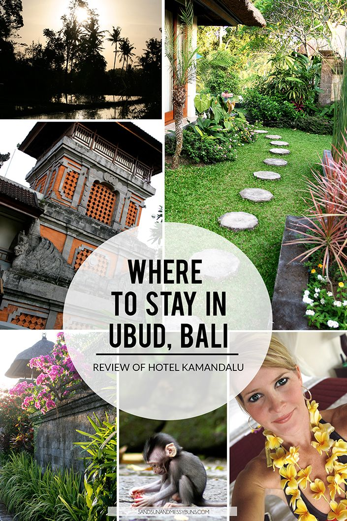 Kamandalu Bali Review: It's the perfect honeymoon destination and also a relaxing spot to escape if you're interested in exploring the rice paddies and sacred monkey forest in Ubud.
