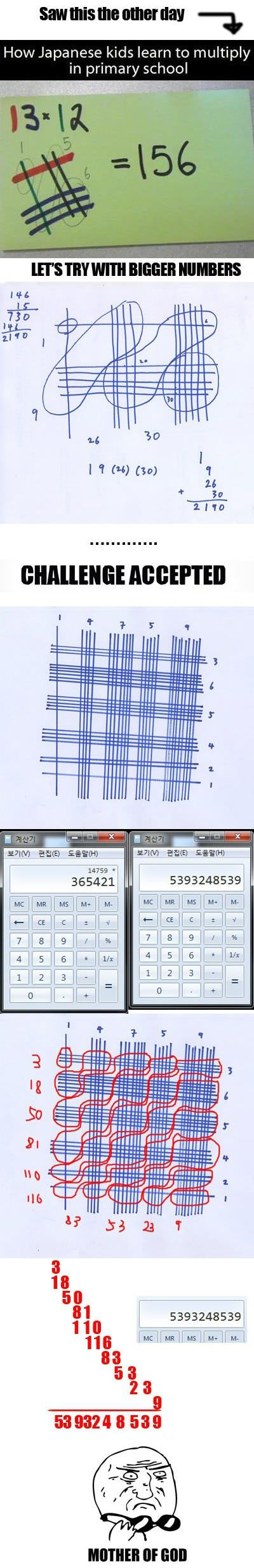 Japanese Math... is this for real?