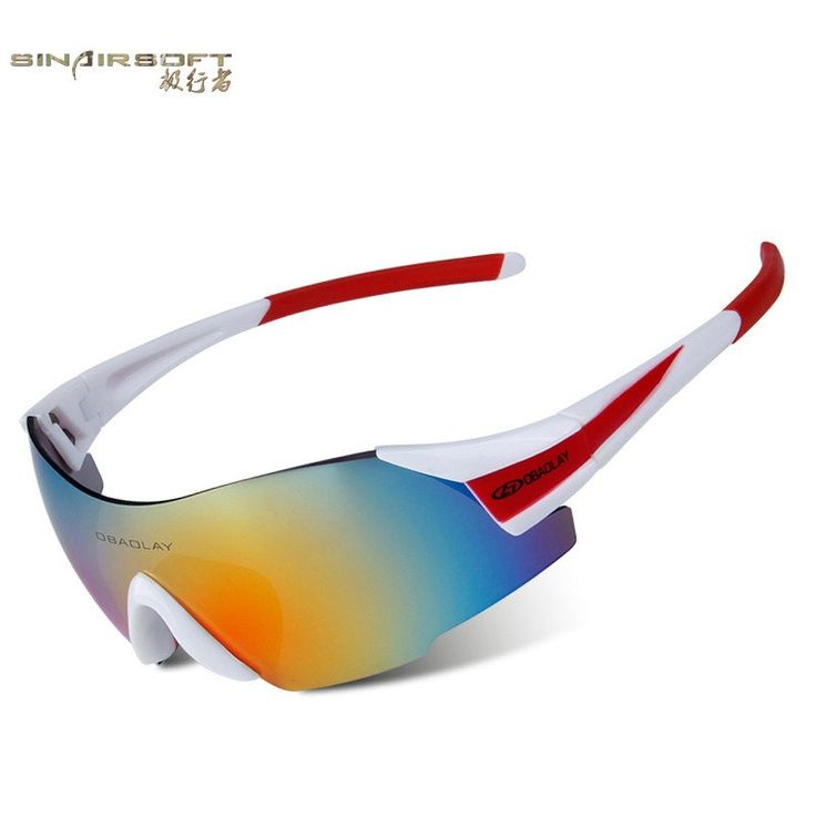 TZQ Riding Glasses Wind Mirrors Sports De Plein Air Lunettes De Soleil Polarisantes Lunettes De Ski Anti-buée,G