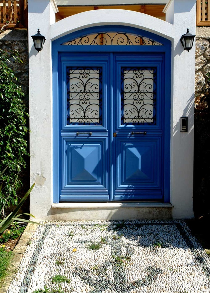 Traditional house in Spetses