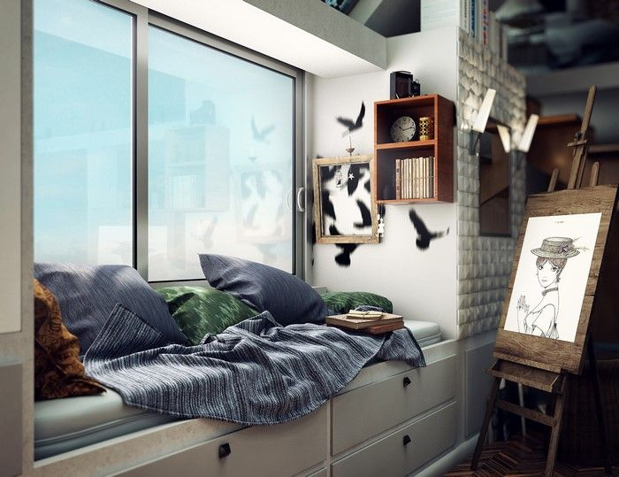 Industrial Loft With Warm And Comfortable Interior (2)