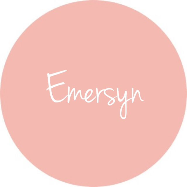 Emersyn - cute baby girl name :)