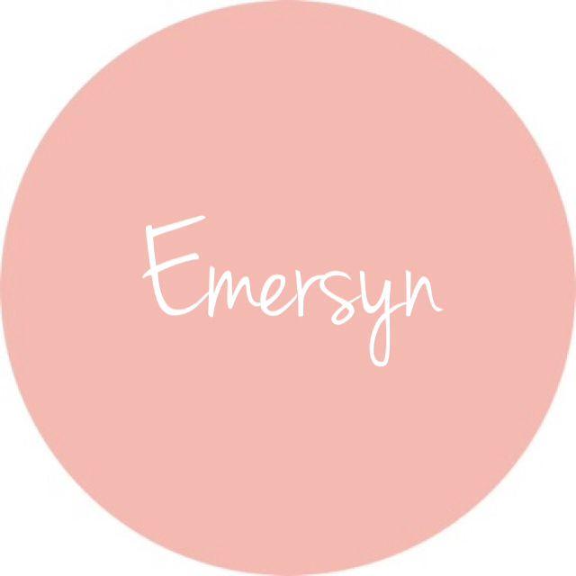 Emersyn - cute baby girl name :)