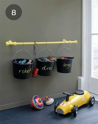 love this! would do it outside though, not in. i can see my kids trying to swing off this when they get older and ripping it out of the wall.. ahhhhh!