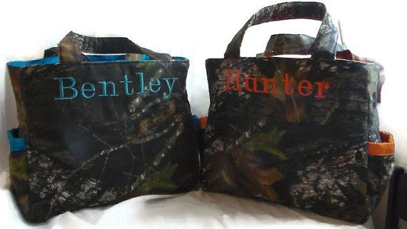 Boys Realtree or Mossy Oak Diaper Bags