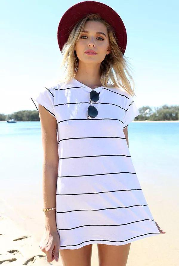 t-shirt-vestido-praia