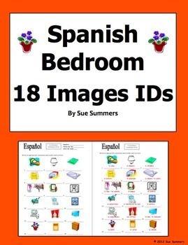 Bedroom objects in spanish