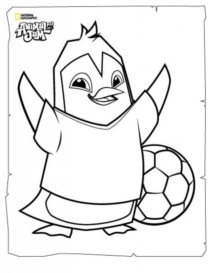 Animal Jam Coloring Pages Fresh Coloring Page Animal Jam