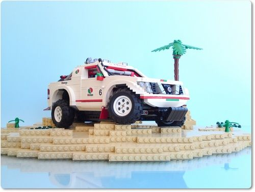 Lego - Nissan Navara Dakar Rally