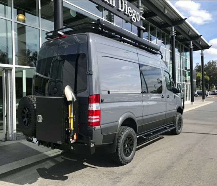 Buy your rig at Mercedes Benz of San Diego✔Drive to Aluminess and outfit with exterior gear✔Cross the street for Agile Off-road magic✔ ➡➡➡ . #aluminess #roofrack #ladder #bumpers #nerfbars #goldentriangle #mercedesbenzsprinter #4x4mercedes #mercedessprinter #4x4sprinter #adventurevan #adventuremobile #sprintervan #sprinterconversion #campervan #vanconversion #sprintercampervans @sandiegosportvans @agileoffroad @mercedesbenzsd