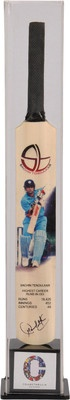 Sachin Tendulkar Digital Signed Miniature Cricket Bat