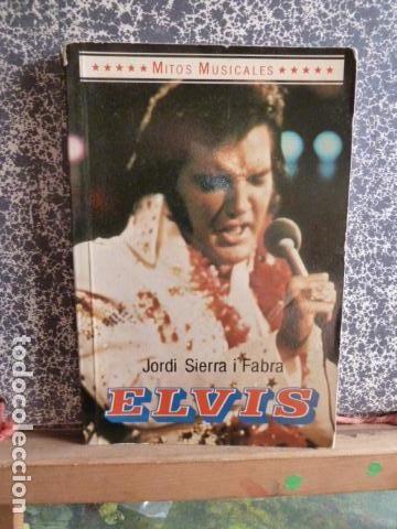 ELVIS PRESLEY -MITOS MUSICALES JORDI SIERRA Y FABRA (Música - Catálogos de Música, Libros y Cancioneros)