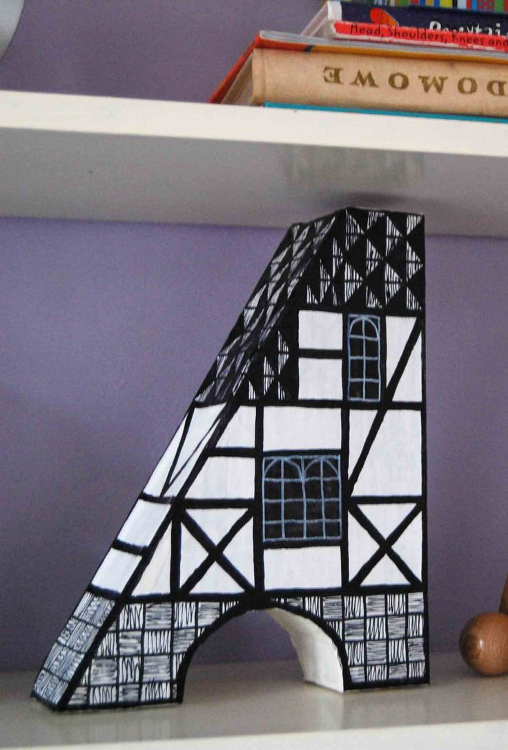 How a cAstle became a #house. Paper art.
